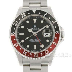 GMTマスター2 デイト D番 16710 赤黒ベゼル スティックダイヤル
