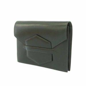 ファコ グリーン ボックスカーフ B刻印