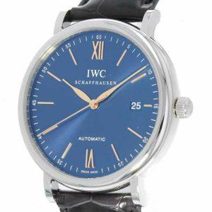 IWC ポートフィノ オートマティック ブルー文字盤 IW356523